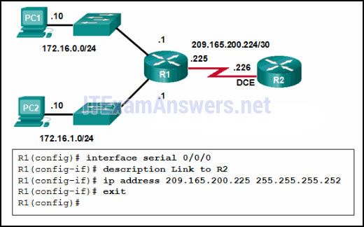 CCNA 2 (v5.0.3 + v6.0) Chapter 1 Exam Answers 2020 - 100% Full 1
