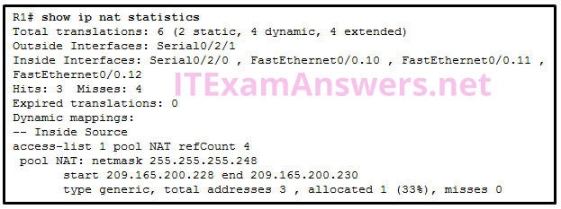 CCNA 2 (v5.0.3 + v6.0) Practice Final Exam Answers 2020 - 100% Full 9