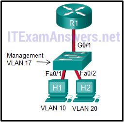 CCNA 2 (v5.0.3 + v6.0) Chapter 6 Exam Answers 2020 - 100% Full 4