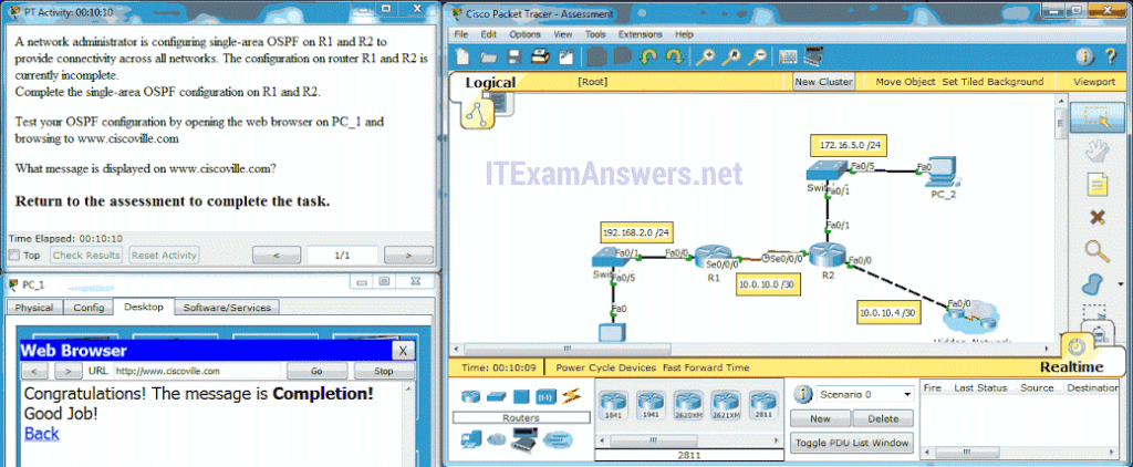 CCNA 2 (v5.0.3 + v6.0) Chapter 8 Exam Answers 2020 - 100% Full 12
