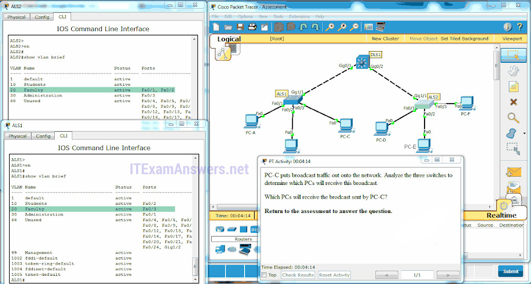 CCNA 2 (v5.0.3 + v6.0) Chapter 6 Exam Answers 2020 - 100% Full 9