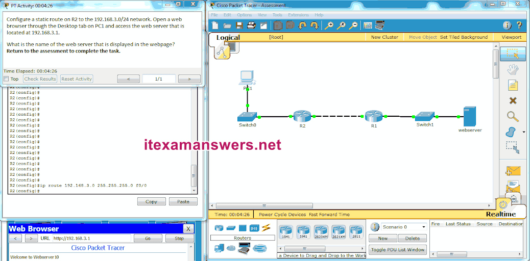 CCNA 2 (v5.0.3 + v6.0) Chapter 6 Exam Answers 2020 - 100% Full 11
