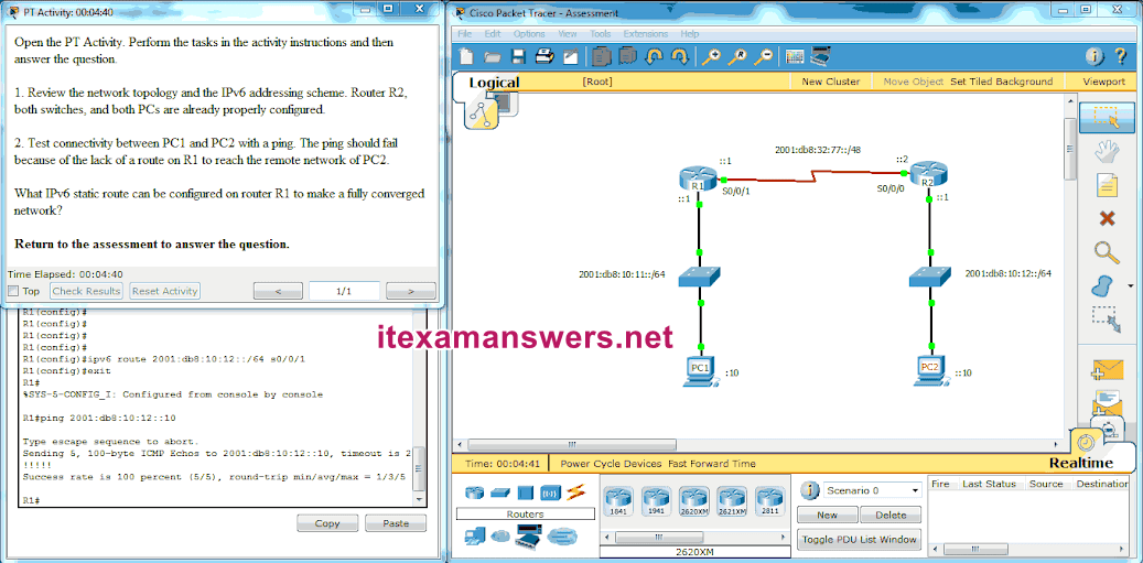 CCNA 2 (v5.0.3 + v6.0) Chapter 6 Exam Answers 2020 - 100% Full 12