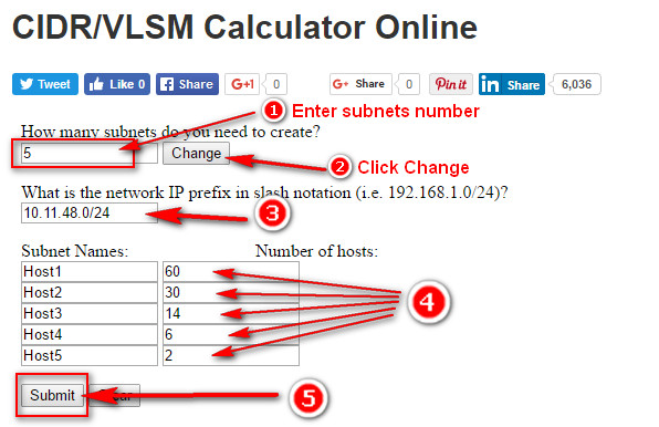 Vlsm Calculator Ccna