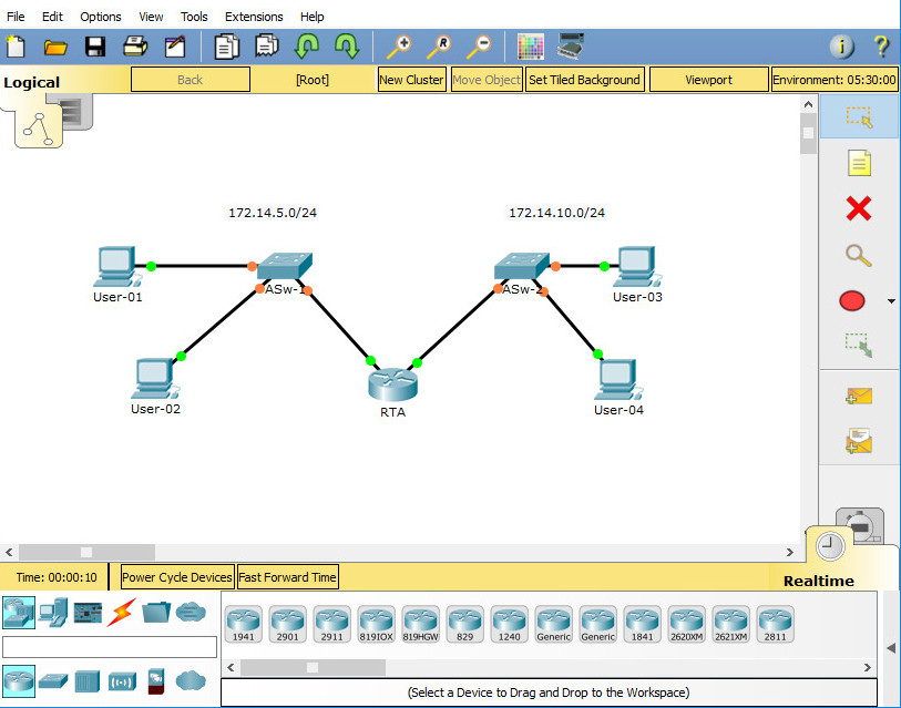 6.5.1.3 Packet Tracer Skills Integration Challenge (Answers) 4