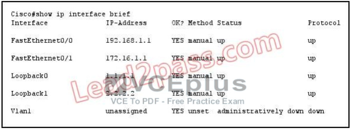 100% Pass CCNA Certification Exam 200-125: 700 Questions and Answers 437
