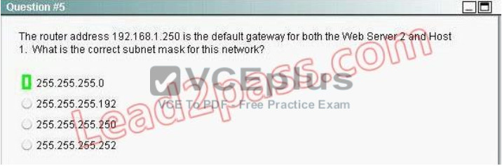 100% Pass CCNA Certification Exam 200-125: 700 Questions and Answers 512