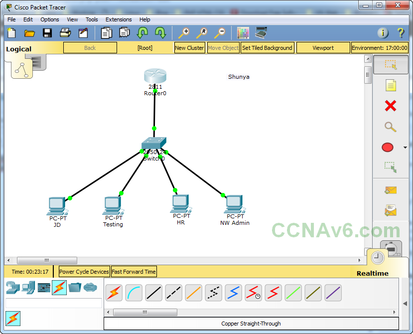 Cisco Packet Tracer for Beginners - Chapter 2: Subnetting a Network 17