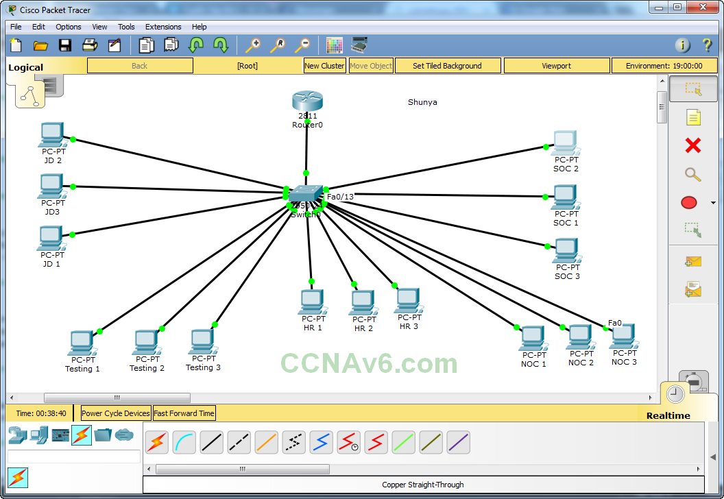 Cisco Packet Tracer for Beginners - Chapter 2: Subnetting a Network 20
