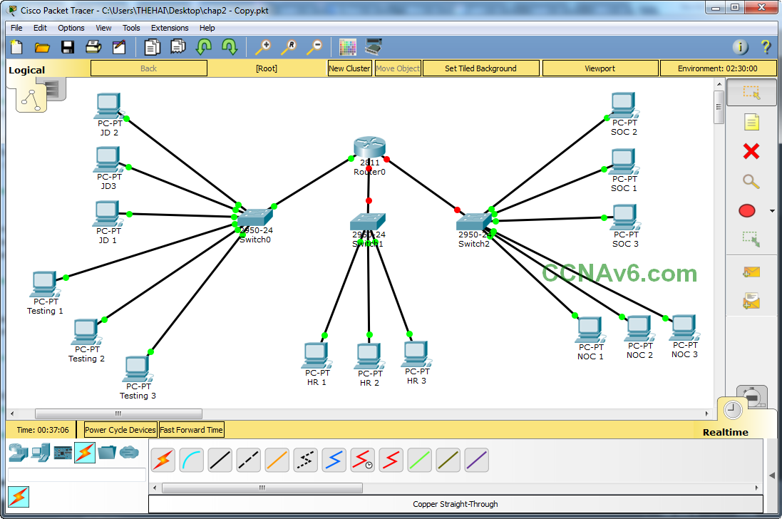 Cisco Packet Tracer for Beginners - Chapter 2: Subnetting a Network