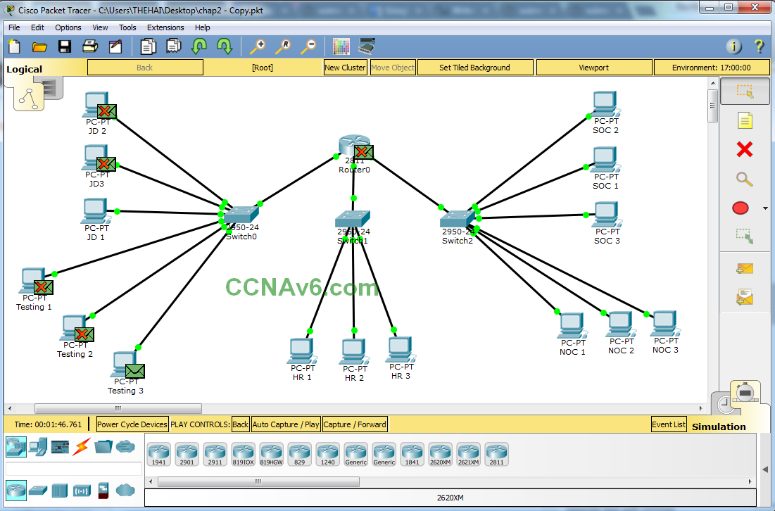 Cisco Packet Tracer for Beginners - Chapter 2: Subnetting a Network 45