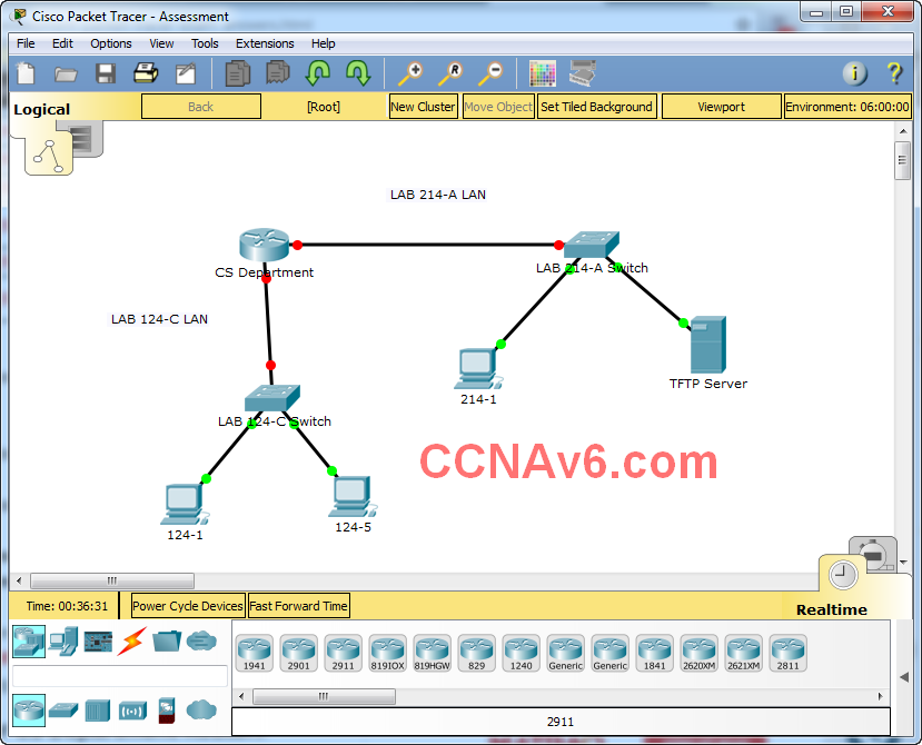 ITN Practice Skills Assessment - Packet Tracer