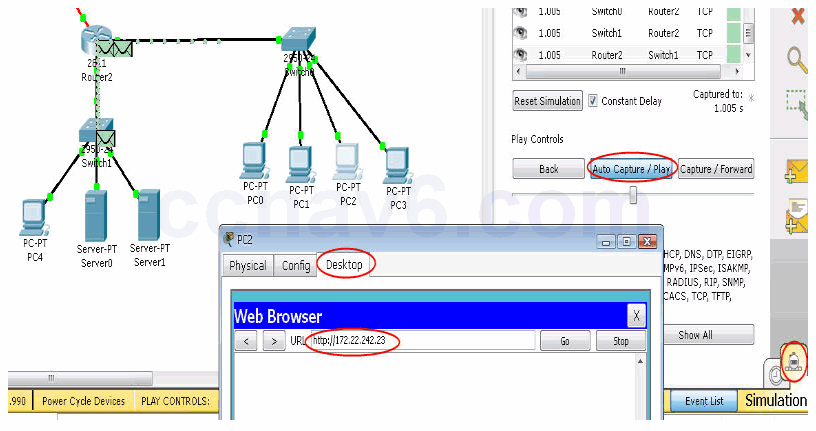 CCNA Certification - Access List Control (ACL-2) Lab Simulation 18