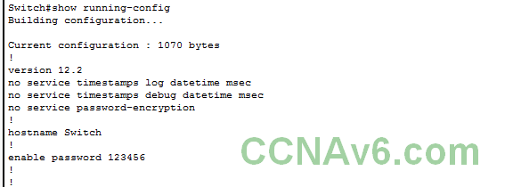 Chapter 5 - Configuring and Encrypting Passwords on Cisco Routers and Switches 7