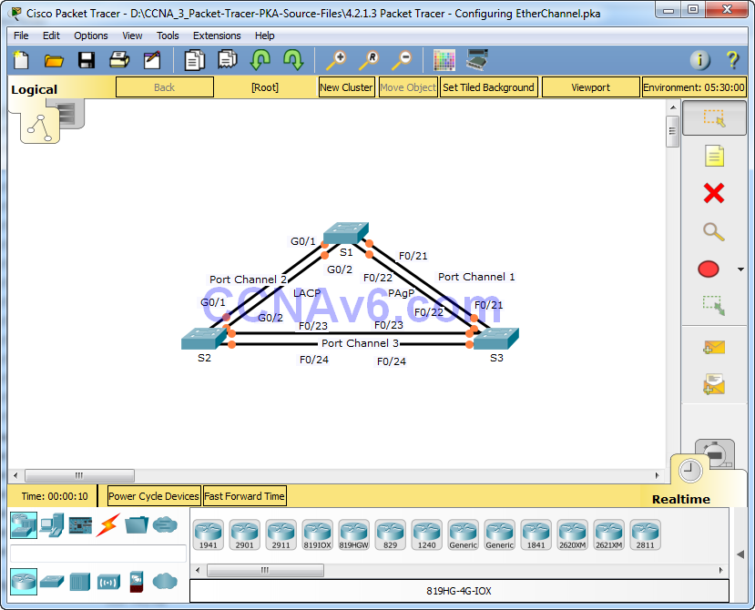Ccna 2 answers packet Tracer