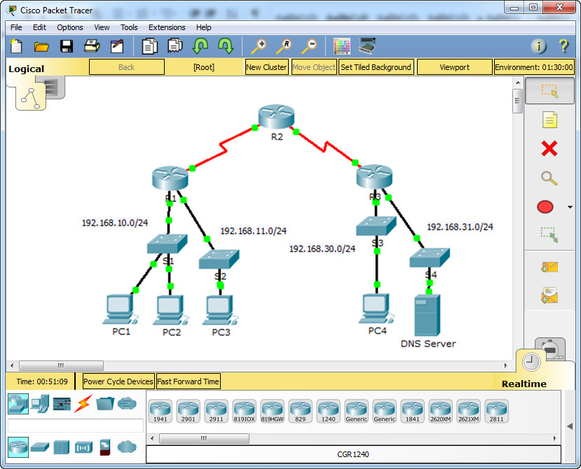 7.1.1.4 Packet Tracer - ACL Demonstration Instructions Answers 3