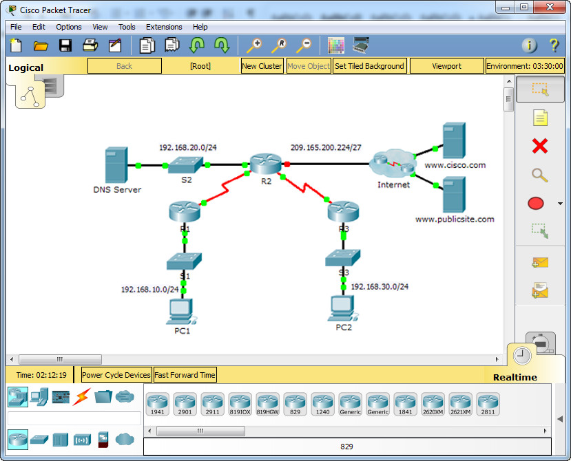 8.1.3.3 Packet Tracer - Configuring DHCPv4 Using Cisco IOS Instructions Answers 3