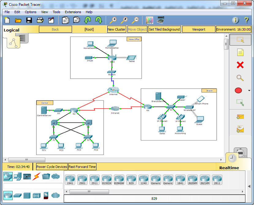9.1.2.6 Packet Tracer - Investigating NAT Operation Instructions Answers 3