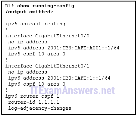 CCNA 3 (v5.0.3 + v6.0) Chapter 10 Exam Answers 2020 – 100% Full 8
