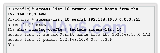 CCNA 2 v6.0 Study Material – Chapter 7: Access Control Lists 60