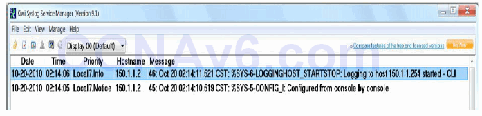 Section 40 – Syslog, SNMP, and Netflow 2