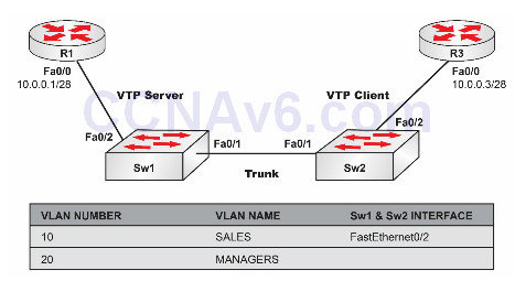 Lab 6: Configuring VTP Clients and Servers on Catalyst Switches 7