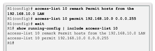 CCNA 4 v6.0 Study Material – Chapter 4: Access Control Lists 78