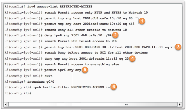 CCNA 4 v6.0 Study Material – Chapter 4: Access Control Lists 102