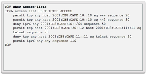 CCNA 4 v6.0 Study Material – Chapter 4: Access Control Lists 104
