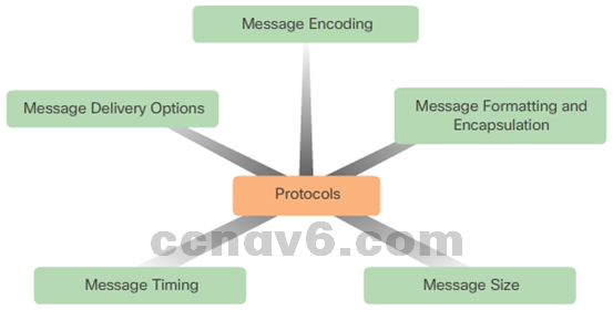 CCNA 1 v6.0 Study Material - Chapter 3: Network Protocols and Communications 8