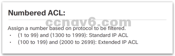 CCNA 4 v6.0 Study Material – Chapter 4: Access Control Lists 72