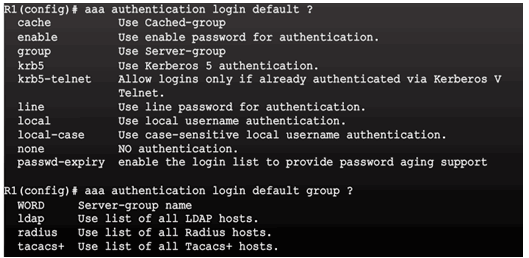 CCNA Security 2.0 Study Material – Chapter 3: Authentication, Authorization, and Accounting 73