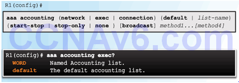 CCNA Security 2.0 Study Material – Chapter 3: Authentication, Authorization, and Accounting 84