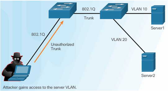 CCNA Security 2.0 Study Material – Chapter 6: Securing the Local Area Network 117