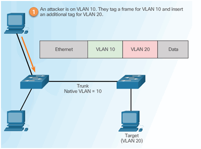 CCNA Security 2.0 Study Material – Chapter 6: Securing the Local Area Network 118