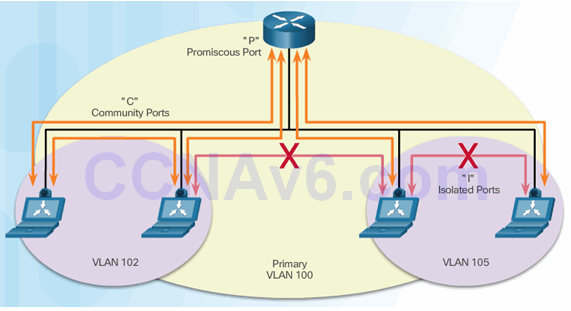 CCNA Security 2.0 Study Material – Chapter 6: Securing the Local Area Network 124
