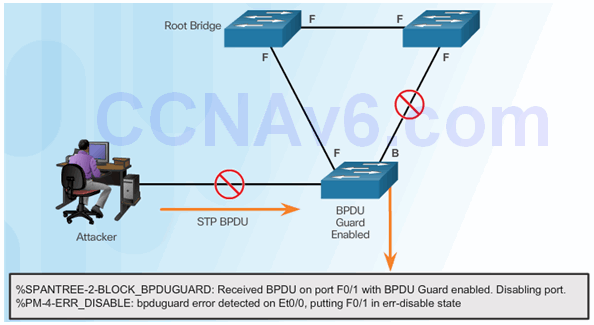 CCNA Security 2.0 Study Material – Chapter 6: Securing the Local Area Network 162