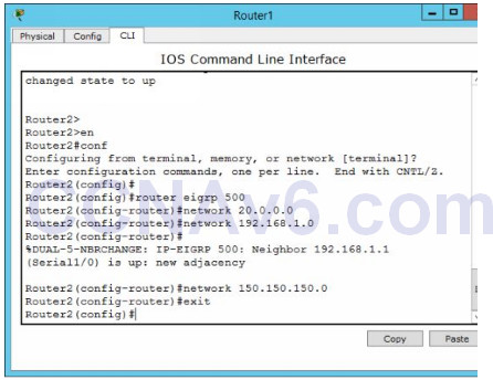 Lab 108: Configuring EIGRP Routing 52