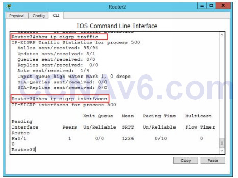 Lab 108: Configuring EIGRP Routing 5