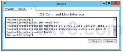 Lab 109: Configuring OSPF Routing 2