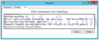 Lab 109: Configuring OSPF Routing 4
