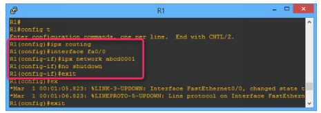 Lab 111: Configuring IPX Routing 3