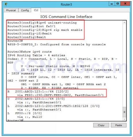 Lab 116: Configuring RIP for IPv6 (RIPng) 1