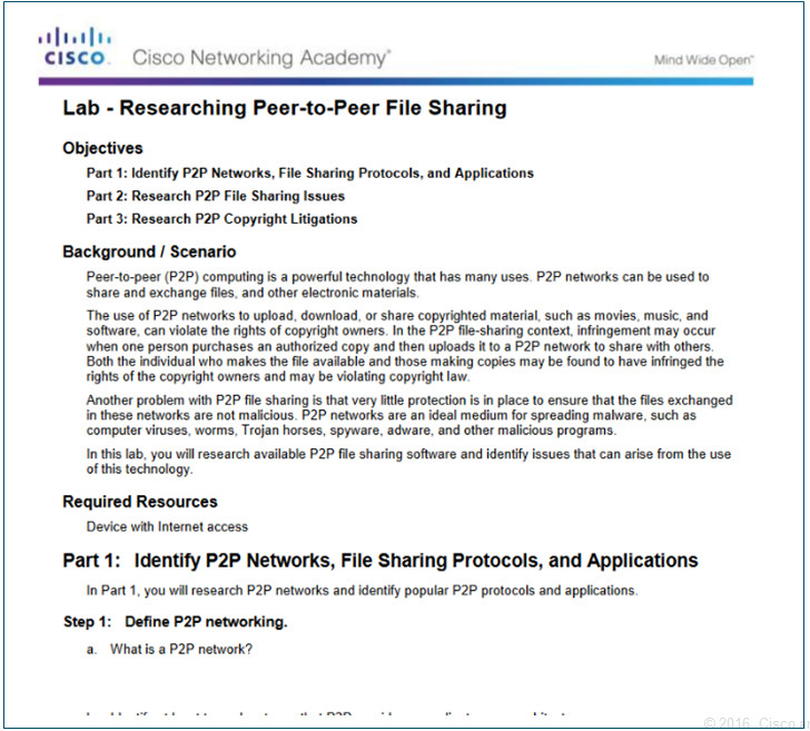 Introduction to Networks 6.0 Instructor Materials – Chapter 10: Application Layer 44