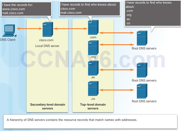 Introduction to Networks 6.0 Instructor Materials – Chapter 10: Application Layer 56