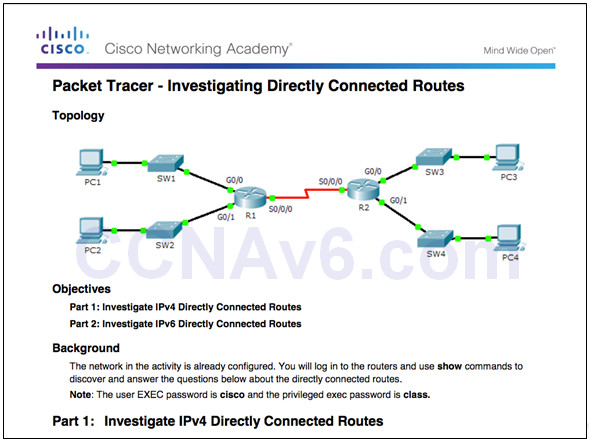 Routing and Switching Essentials 6.0 Instructor Materials – Chapter 1: Routing Concepts 105