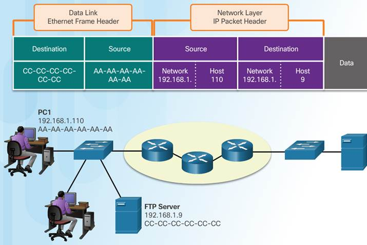 Introduction to Networks 6.0 Instructor Materials – Chapter 3: Network Protocols and Communication 75