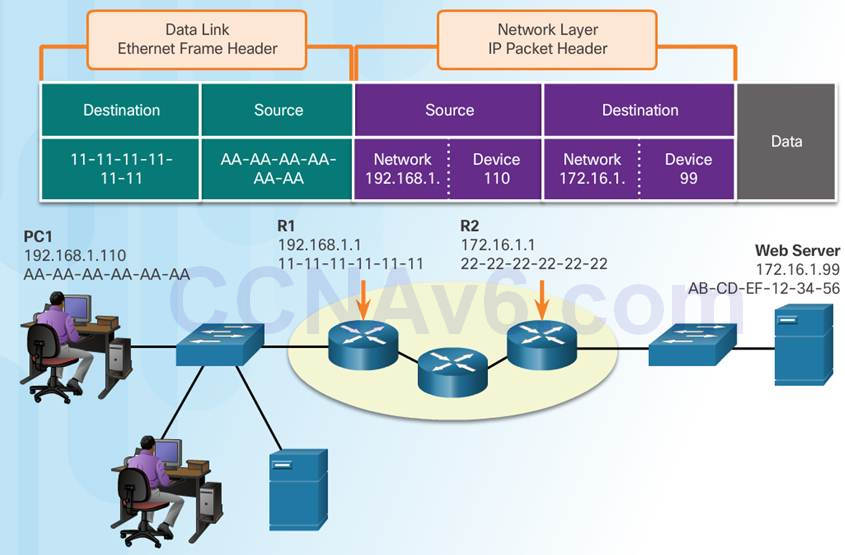 Introduction to Networks 6.0 Instructor Materials – Chapter 3: Network Protocols and Communication 76