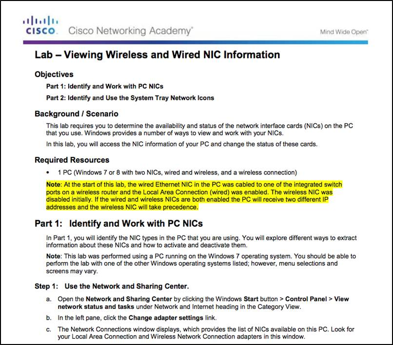 Introduction to Networks 6.0 Instructor Materials – Chapter 4: Network Access 106