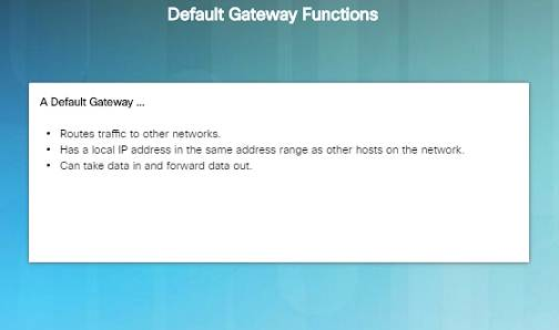 Introduction to Networks 6.0 Instructor Materials – Chapter 6: Network Layer 77